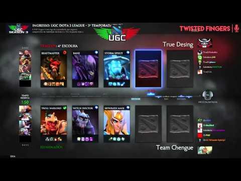 UGC Playoffs  - True Desing vs Team Chengue w/ Twisted Fingers - Overfeeder & BBT - 2 / 3