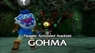 [3DS] Fighting Gohma as Adult Link - Ocarina of Time 3DS (Citra)