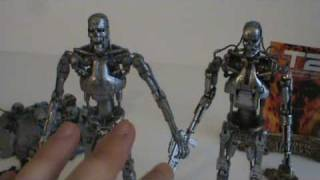 Toy Spot - McFarlane Toys VS Neca Terminator T-800 Comparison, Part 2