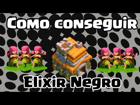 Clash of Clans Como conseguir Elixir Negro no centro de vila 7