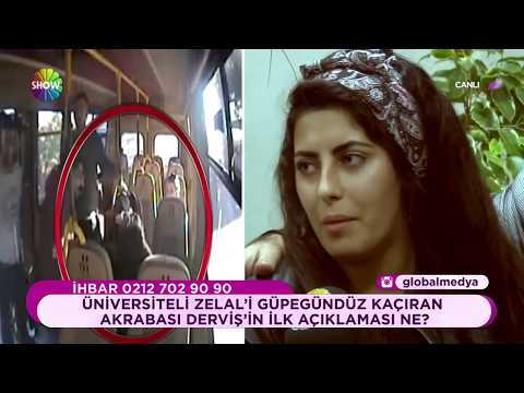Minibüsten kaçırılan Zelal yaşadıklarını anlatıyor
