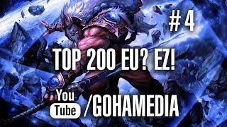 Dota 2 путь в топ 200 европы #4 от портала GoHa.Ru