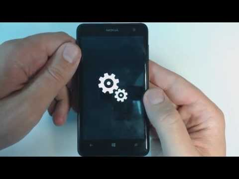 Nokia Lumia 625 hard reset