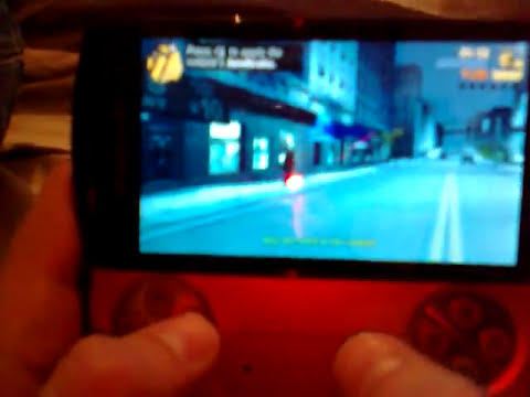 GTA 3 Android Gameplay Xperia Play!
