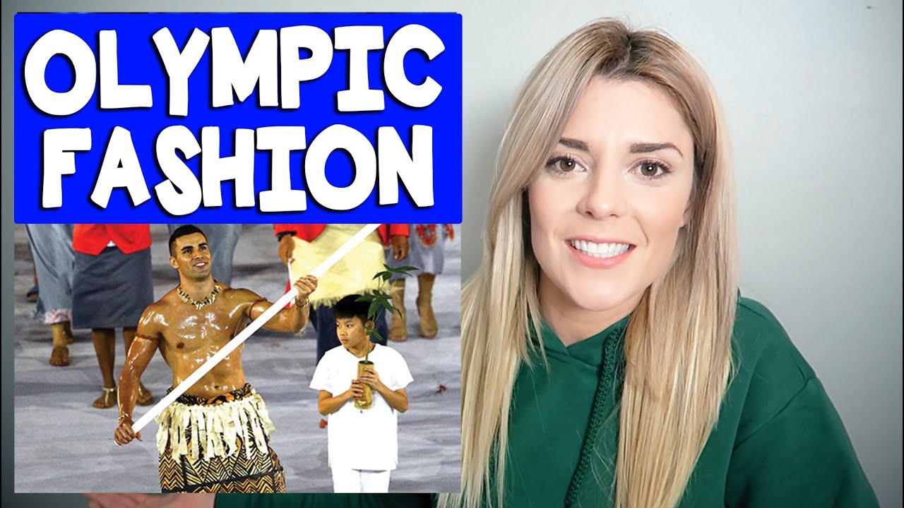 OLYMPIC FASHION REVIEW // Grace Helbig