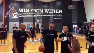 Ricky Rubio Basketball - Manila Philippines
