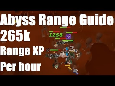 Abyss Ranging Guide – AFK 265K Range XP per hour [Runescape 2014]