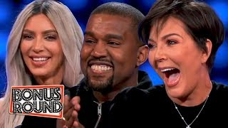 Kardashians VS West Family Feud Episode BEST BITS | Bonus Round