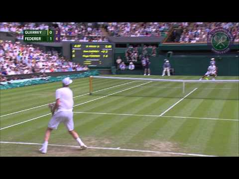 2015 Day 4 Highlights, Sam Querrey vs Roger Federer