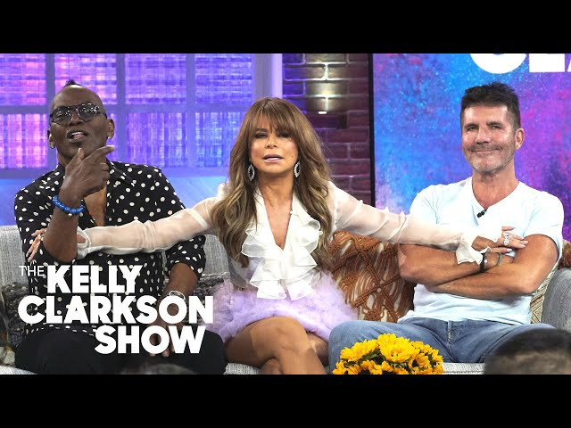 Simon Cowell39s 39One Wish39 Is To Make A Show With Paula And Randy Again  The Kelly Clarkson Show