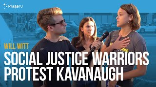 Social Justice Warriors Protest Kavanaugh