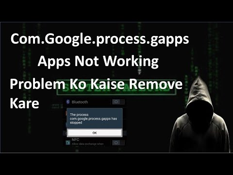 How to fix com.google.process.gapps. Stopped Problem   Hindi Trick