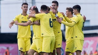 Resumen Villarreal C 4-1 Villamarxant CF