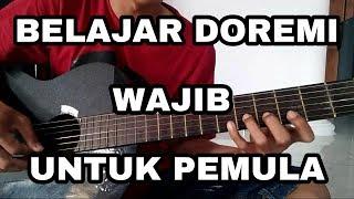 Tutorial Belajar Doremi pada gitar (wajib untuk pemula)