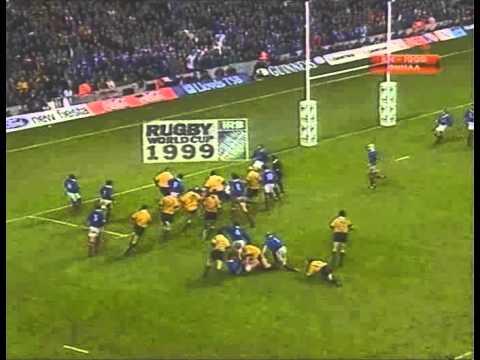 Rugby 1999. Final. Australia v France