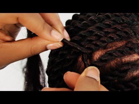Senegalese Twist Cornrows Step by Step Tutorial Part 2 of 4
