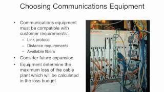FOA Lecture 10_ Fiber Optic Network Design Part 2