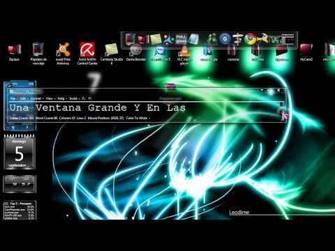 Paquete de programas para windows 7