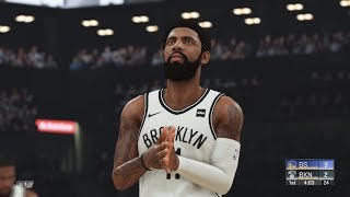 NBA 2k20 - Brooklyn Nets vs Golden State Warriors Full Match | PS4 Pro (1440p 60fps)