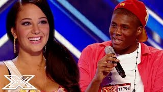 HILARIOUS Louis Armstrong Impression Has Judges In Hysterics! | X Factor Global