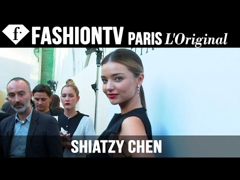 Miranda Kerr after the Shiatzy Chen Show | Paris Fashion Week Spring 2015 | FashionTV