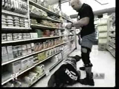 Stone Cold vs Booker T in a Market Music Videos