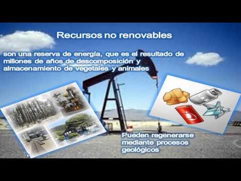 recursos naturales renovables