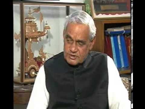 Rajeev Shukla interviews atal bihari vajpayee part3 of 3