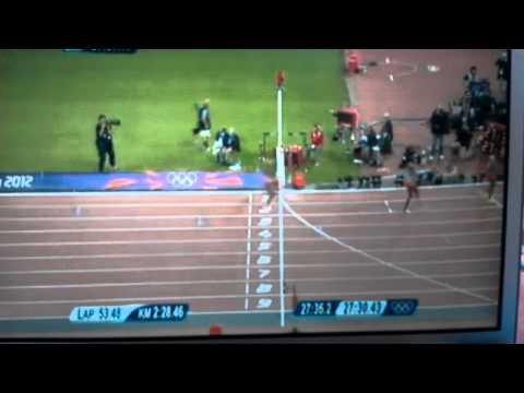 Olympic Men's 10k 2012 - Last 3 laps