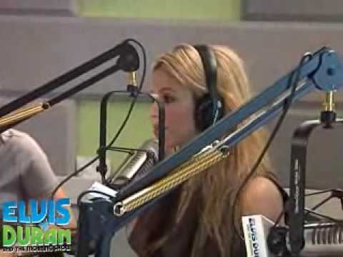 Shakira interview at Z100 for her new single She Wolf (part1)