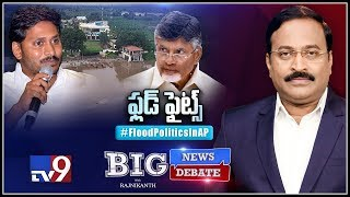 Big News Big Debate: Flood Politics In AP - Rajinikanth TV9