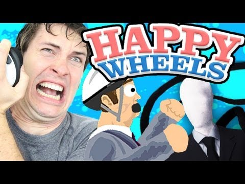 Happy Wheels - SLENDER Part 1