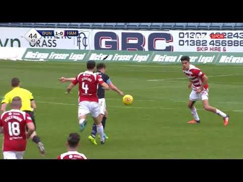 İskoçya Küme Düşme Grubu | Dundee 1-0 Hamilton Maç Özeti
