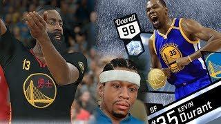 NBA 2K17 My Team - Diamond Finals MVP Durant Debut! PS4 Pro 4K