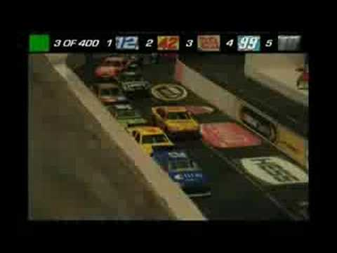 NASCAR Stop Motion Miller High Life 400 Extended Version