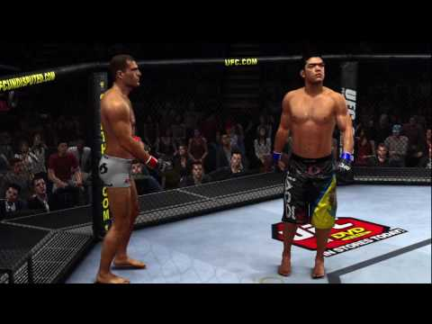 Ufc Undisputed 2010 Machida Vs Shogun 3 Demo Played On