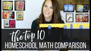 The Top 10 Homeschool Math Comparison Review