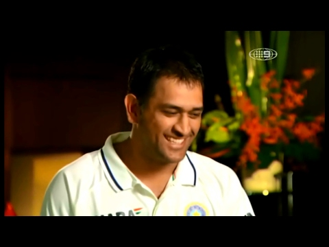 MS Dhoni Interesting Interview In Australia HD - Hilarious And Insightful