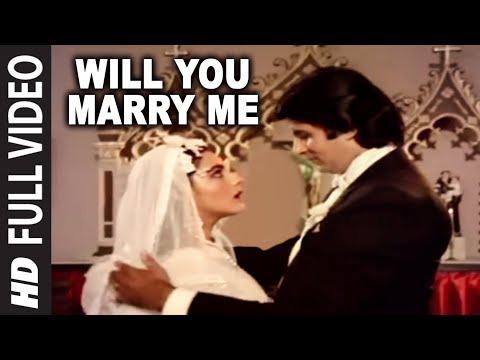 Will You Marry Me Full Song | Mard | Amitabh Bachchan, Amrita Singh video