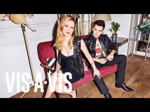 Ricardo Gómez y Carla Nieto. Making of para Revista Vis-à-Vis