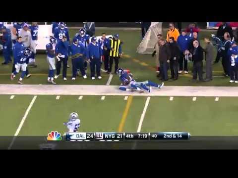 Dallas Cowboys vs New York Giants week 12 NFL Highlights