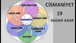 Hasan Akar - Cismaniyet 19 - Cismaniyetin Sureti, Hakikatı Mahiyeti