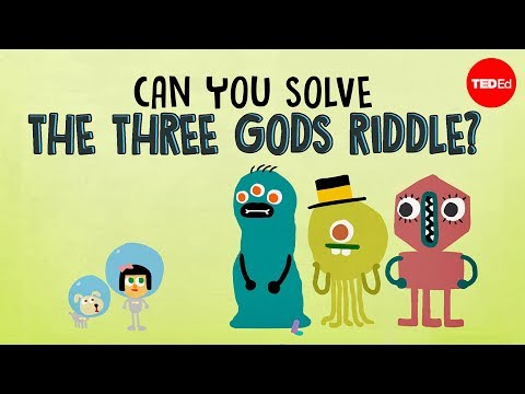Can you solve the three gods riddle? - Alex Gendler