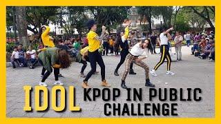 [V'llionGT] [KPOP IN PUBLIC CHALLENGE GUATEMALA] #BTS (방탄소년단) - #IDOL (DANCE COVER)