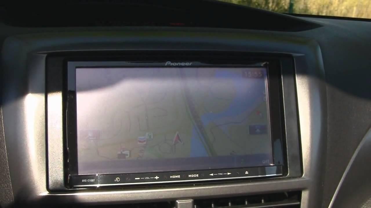Lexerd Truevue Anti Glare Screen Protector On Pioneer Avic