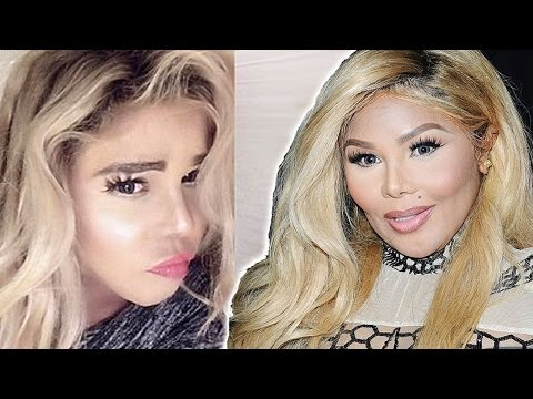 Lil Kim Becomes A White Woman - Shocking Transformation