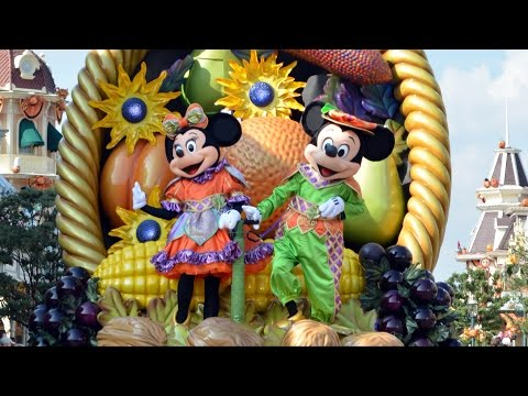 Mickey's Halloween Celebration Parade Cavalcade  - Disneyland Paris Halloween Celebration 2014