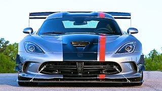 Viper ACR 2016 Review Dodge Viper ACR Exhaust Sound Nurburgring American Supercar CARJAM TV 2015