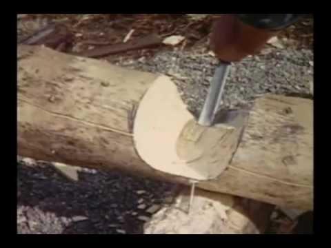 Sam U Divljini (Izgradnja Brvnare) - 1. deo