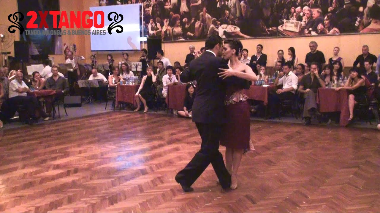Roberto zuccarino y magdalena valdez en salon canning for A puro tango salon canning